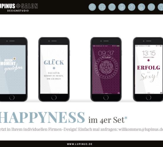 Happyness auf Ihrem Smartphone!