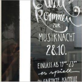 LUPINUS SALON Musiknacht